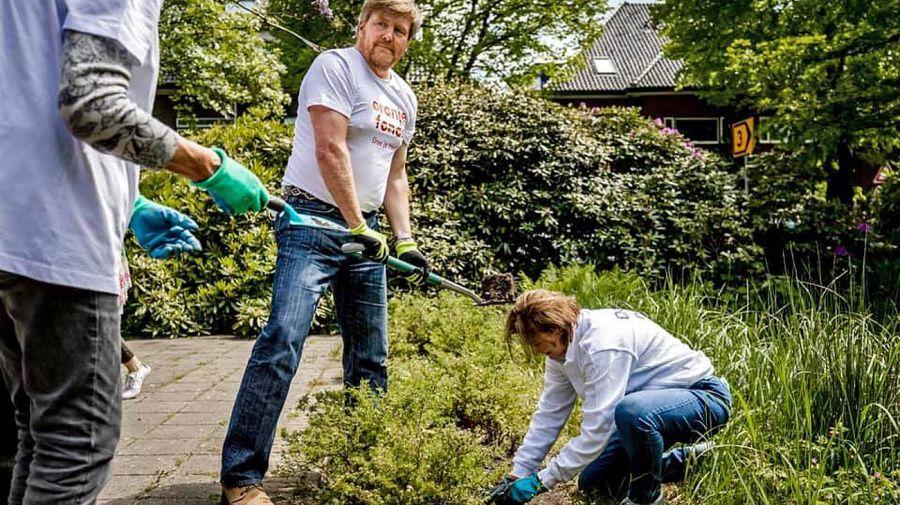 Limpieza de Primavera de Máxima y Guillermo de Holanda 20210528