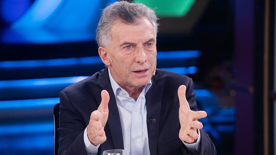 Mauricio Macri, invitado de Juana Viale en Canal 13.