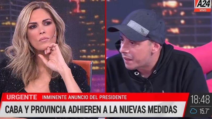 Viviana Canosa y El Dipy