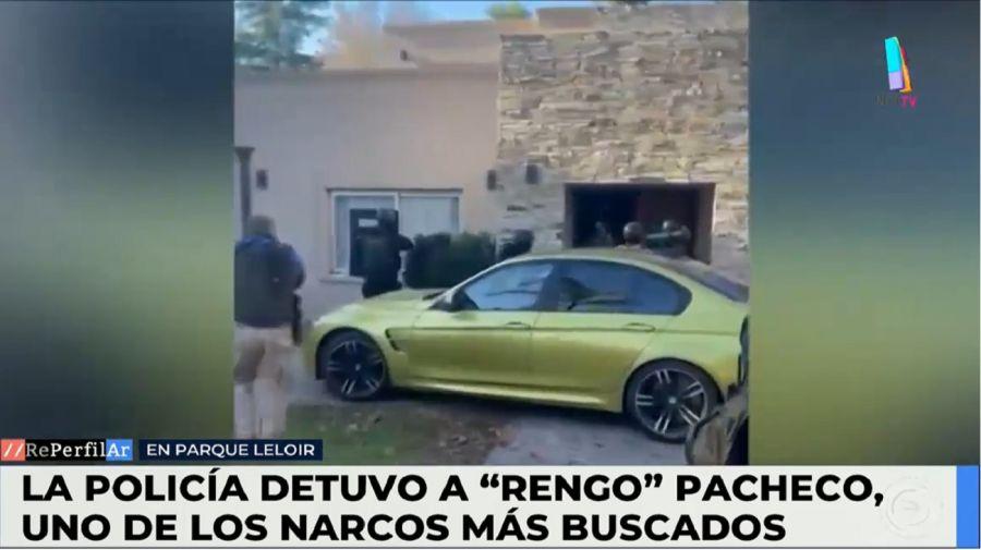 "Así era la lujosa casas del ""Rengo"" Pacheco"