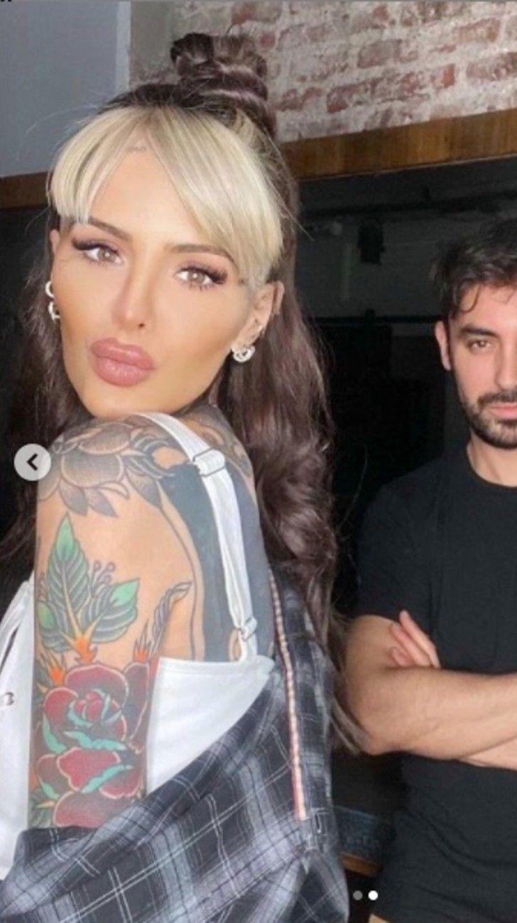Cande Tinelli cambió su look inspirado en Cruella
