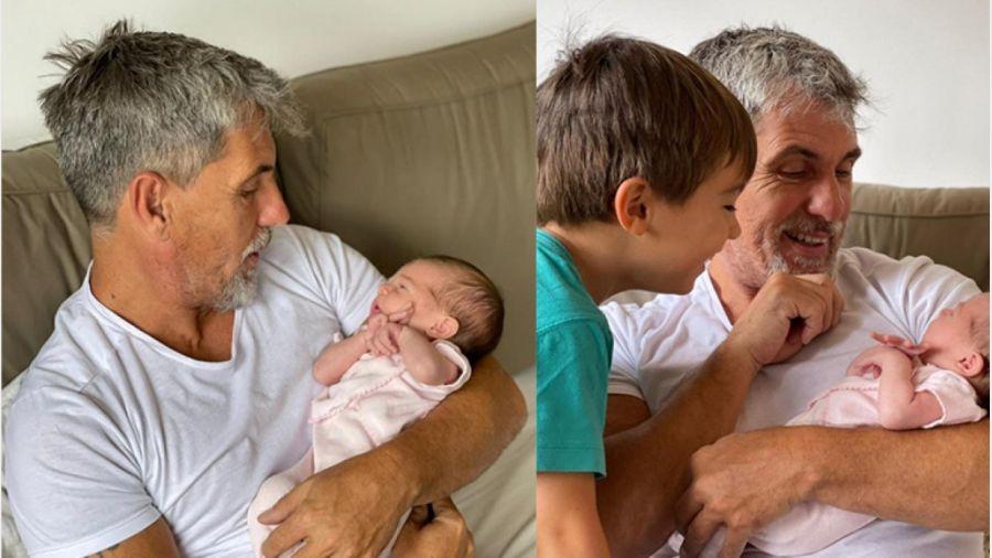 El Chato Prada compartió fotos de su nieta Julieta: