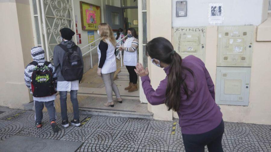 Reapertura de las escuelas de la Ciudad de Buenos Aires 20210531
