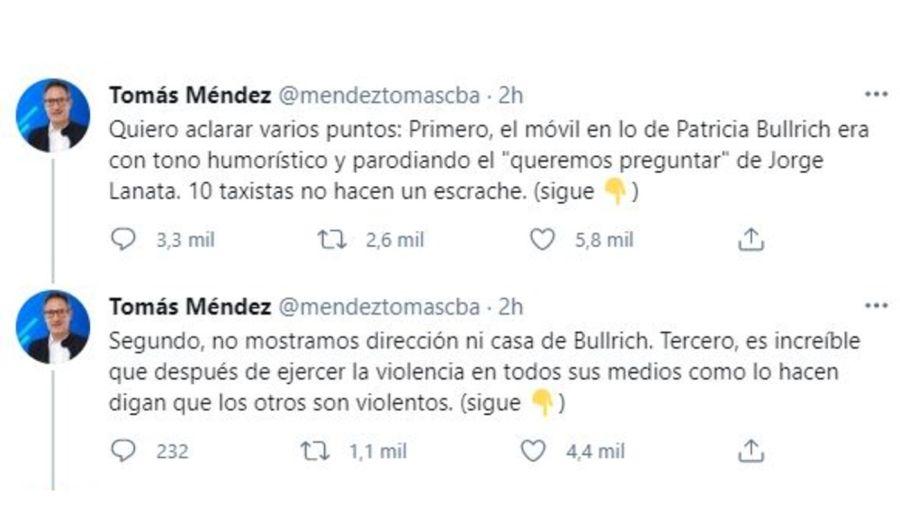 Tomas Mendez descargo