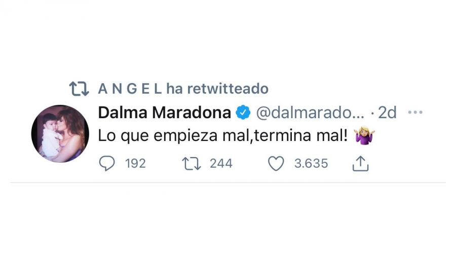 Tweet Ángel De Brito 0531
