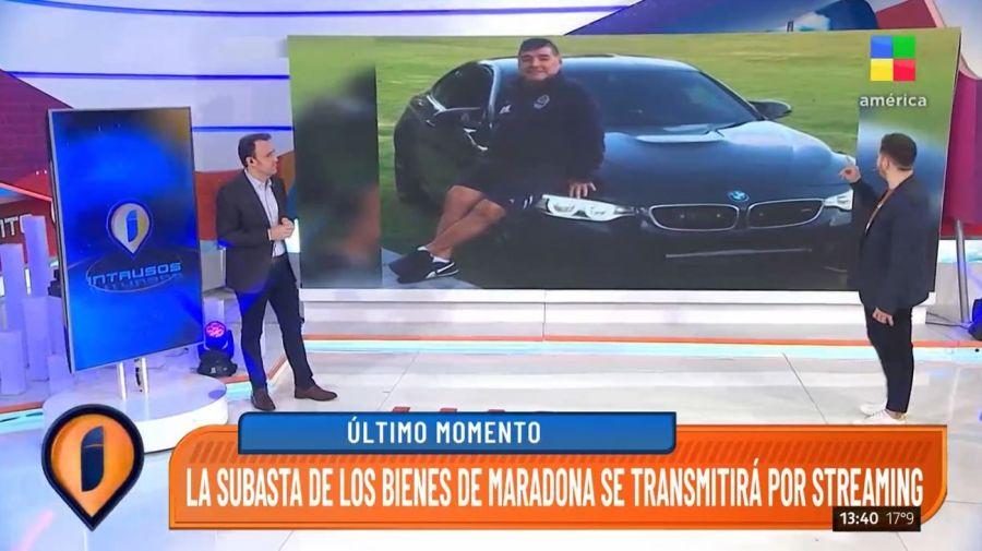 Subasta de Diego Maradona