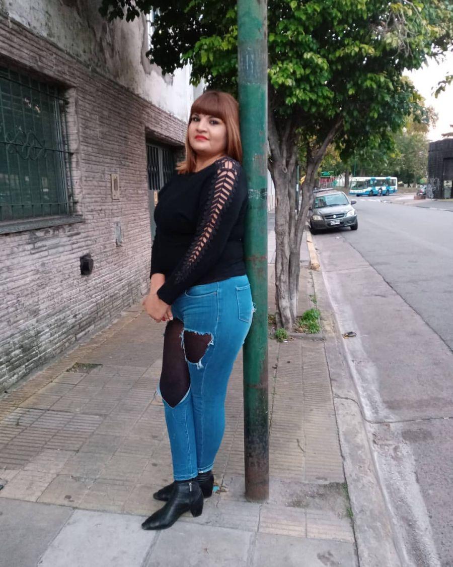 Georgina Orellano en el día internacional de las trabajadoras sexuales