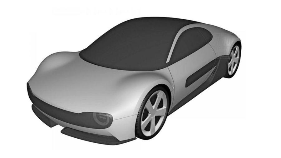 Honda Sports EV patente
