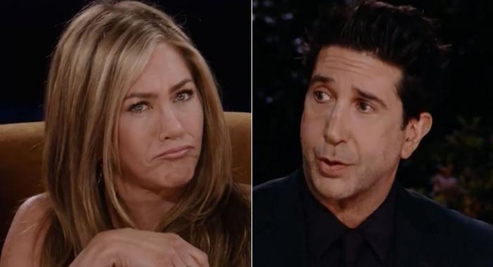 Jennifer Aniston y el guiño a David Schwimmer tras el reencuentro de Friends