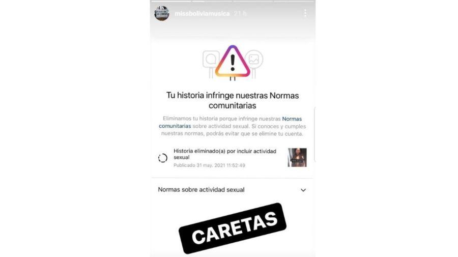 Miss Bolivia censura