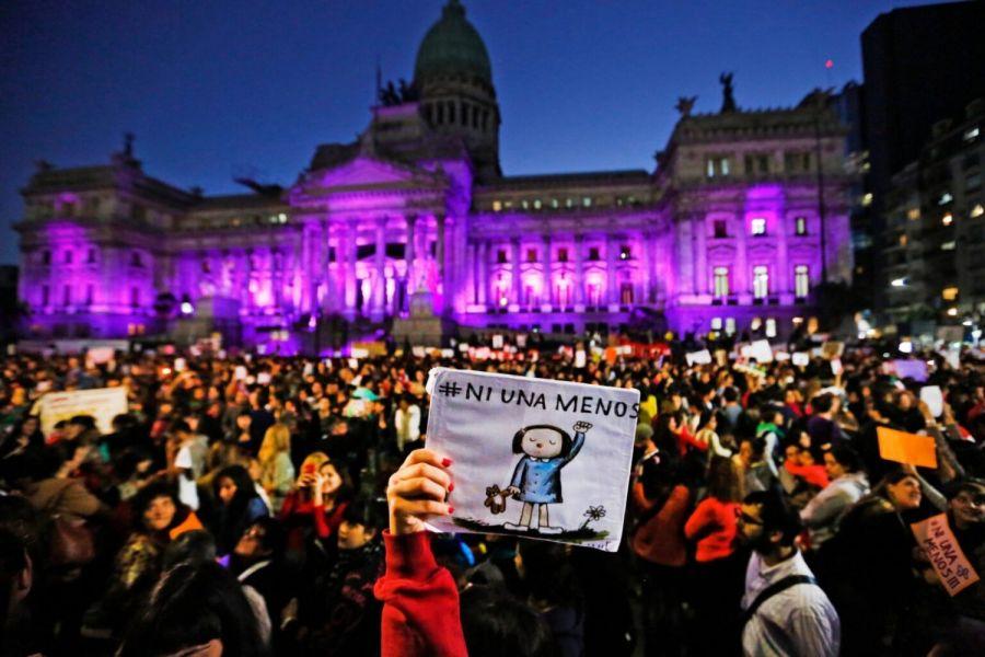 NiUnaMenos: Por que el color violeta es símbolo de la lucha feminista