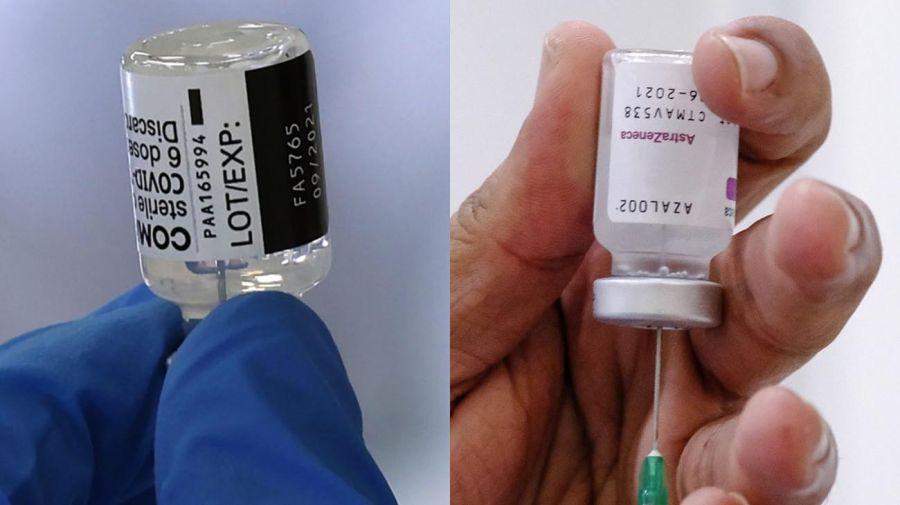 Pfizer y AstraZeneca 20210602