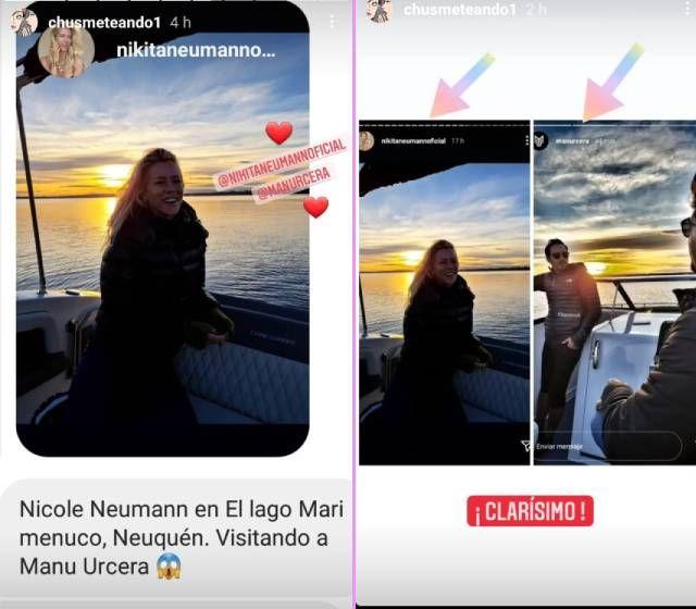 La foto de Nicole Neumann que confirmaría el romance con un reconocido deportista