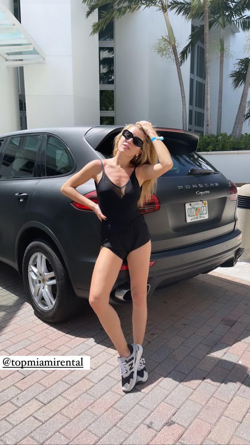 Laurita Fernández en Miami