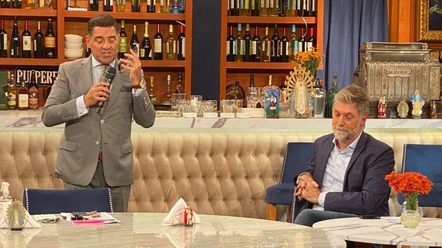 Mariano Iúdica y Horacio Cabak