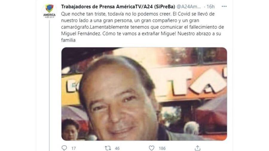 Muerte Miguel Fernandez