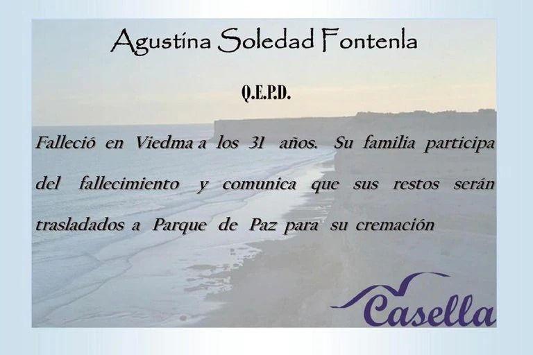 Murió por Covid-19 Agustina Fontenla, ex participante de Bake Off
