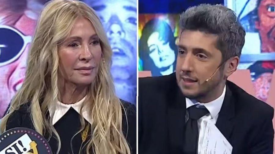 Cris Morena y Jey Mammon
