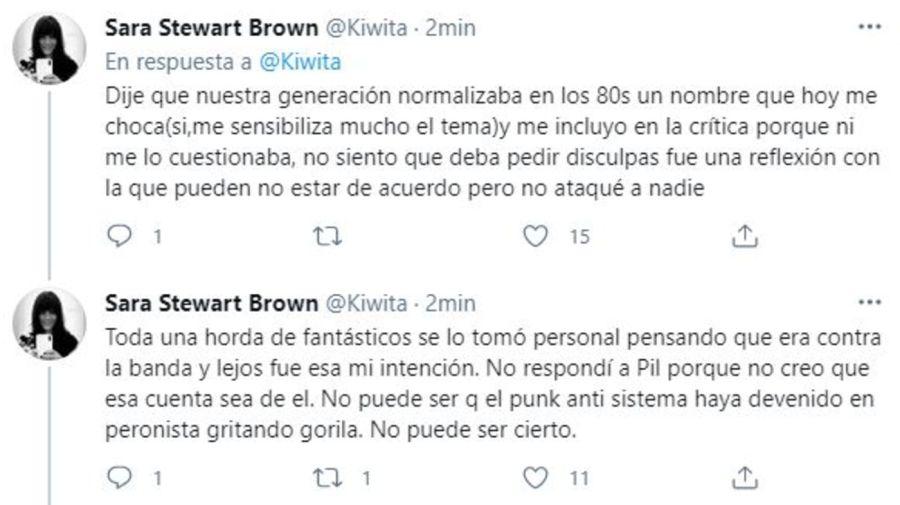Descargo Sara Stewart Brown