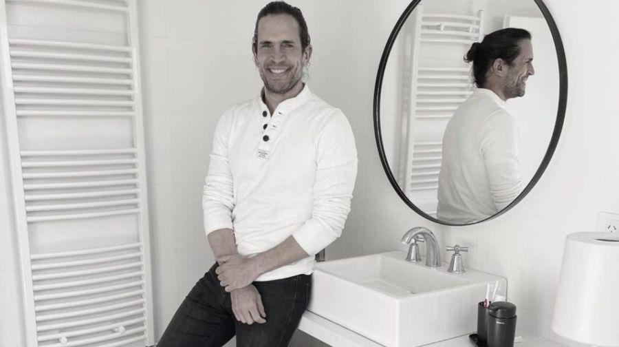 Diego Ramos mostró su casa de estilo minimalista