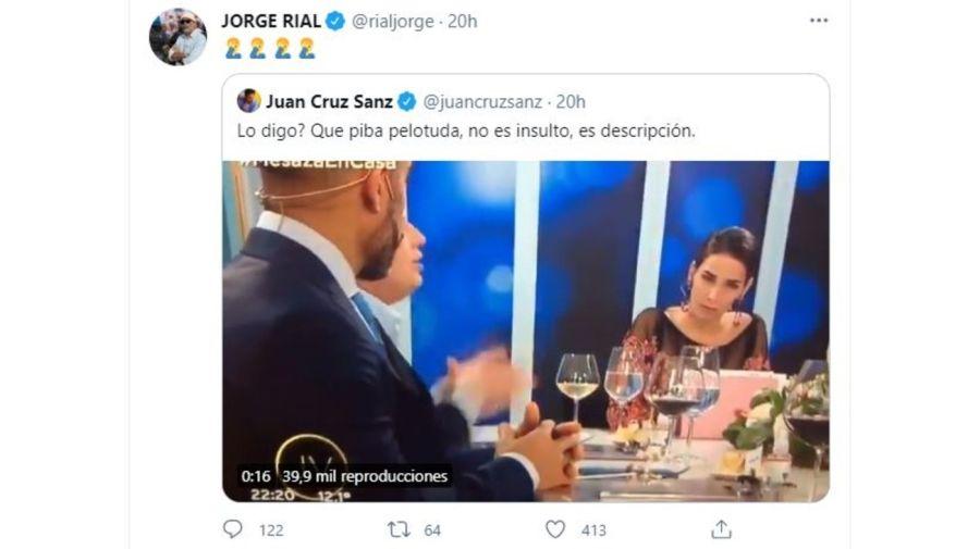 Jorge Rial contra Juana Viale