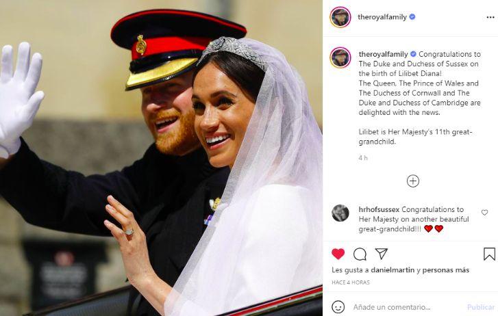 Nació Lilibet Diana, la hija del príncipe Harry y Meghan Markle: Así reaccionó la Reina Isabel y la Familia Real