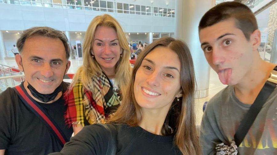 Yanina Latorre y su familia