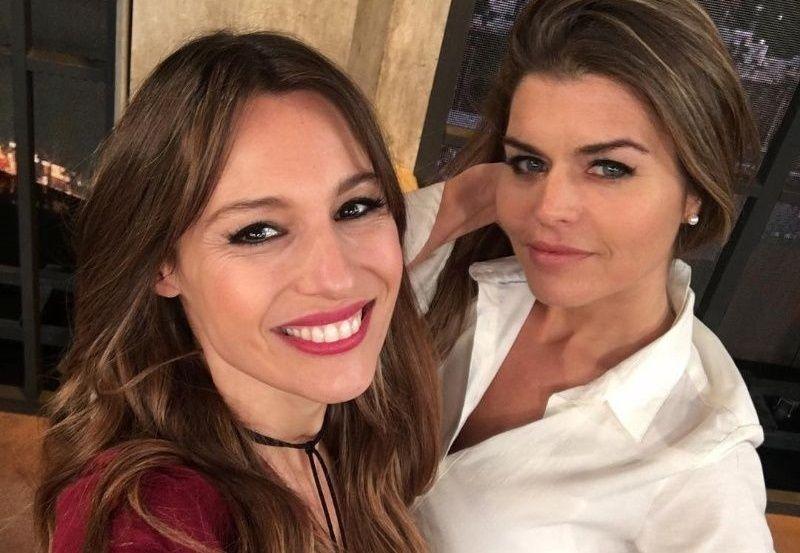Angie y Pampita