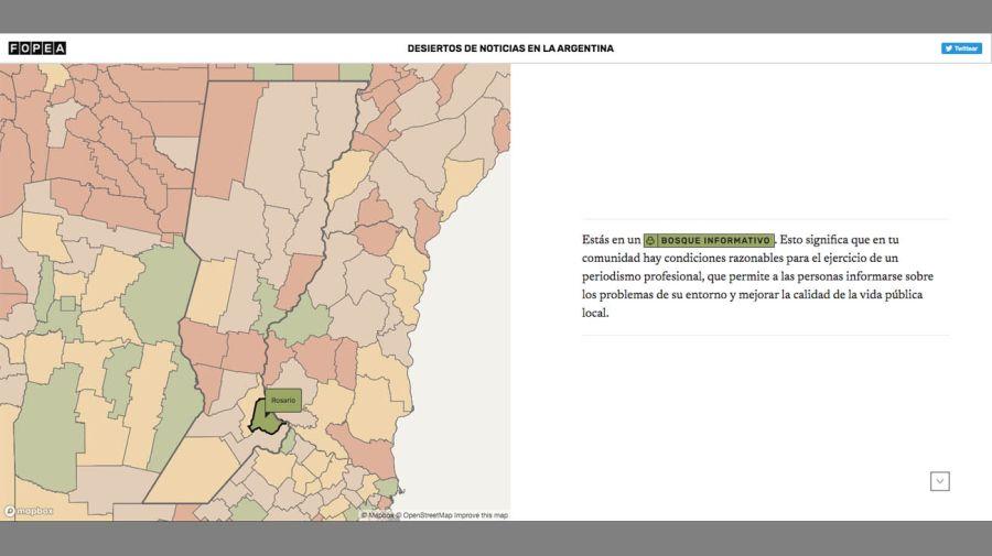 Desiertos informativos en la Argentina   FOPEA 20210609
