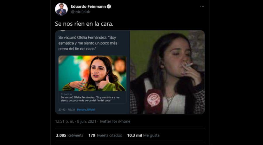 eduardo feinmann twitter 0609