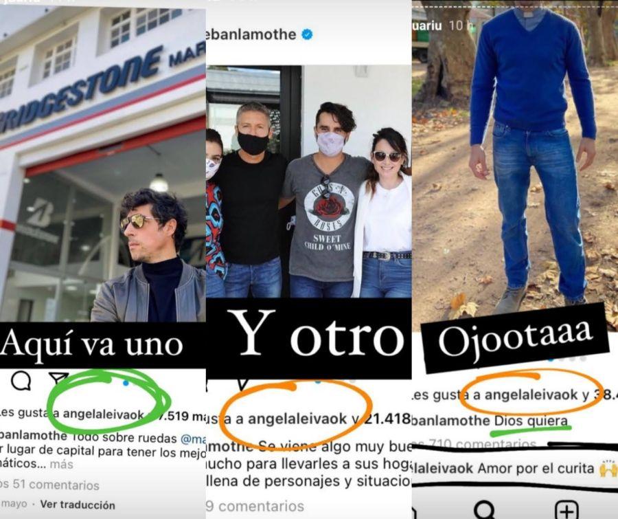 Ángela Leiva confirmó su separación