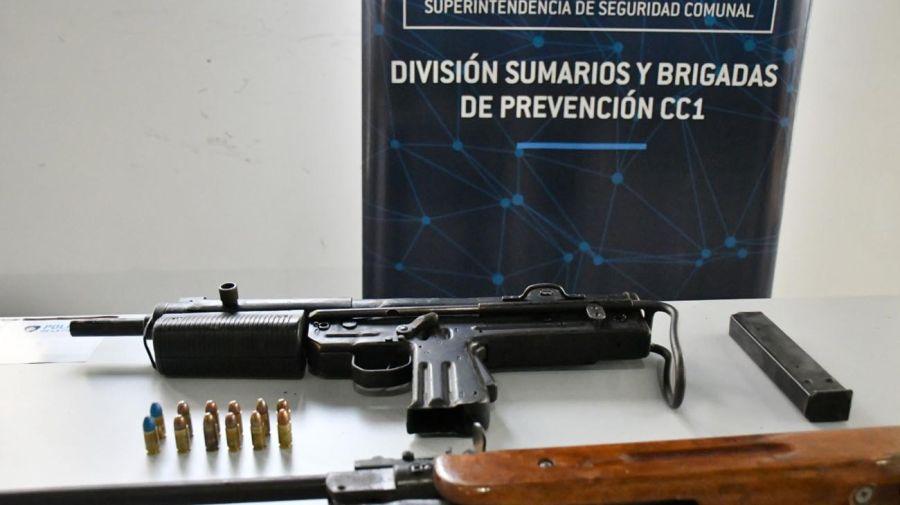 Cierre de Bunker y detenidos por ventas de drogas en el barrio 31 20210610