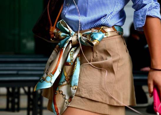 Moda para mayores de 50: 5 Ideas para usar pañuelo