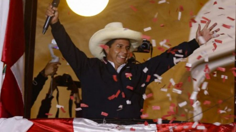 Pedro Castillo peru g_20210610