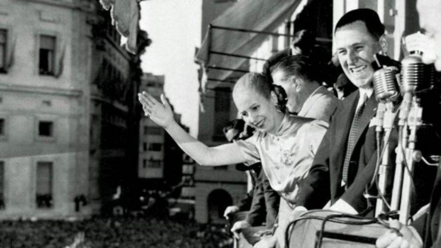 Perón y Eva