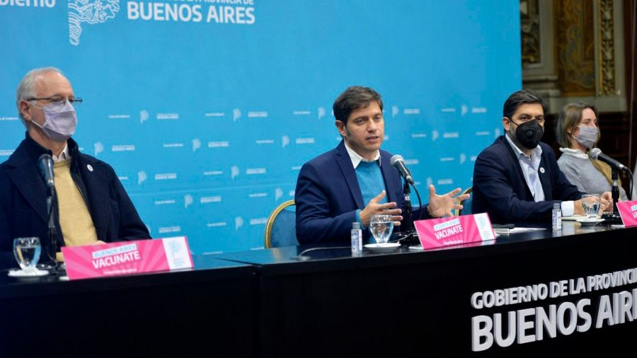 Axel Kicillof anunció aperturas para la Provincia de Buenos Aires.
