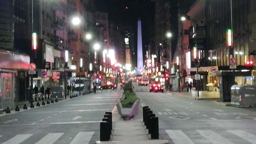 Avenida Corrientes.