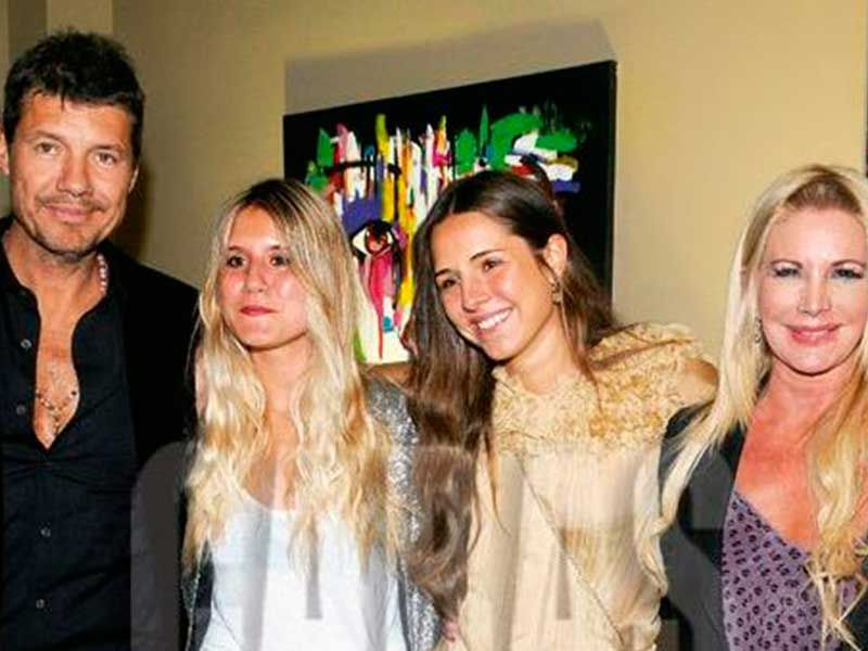 Marcelo Tinelli demostró su apoyo a Cande y Mica tras el trasplante de Soledad Aquino
