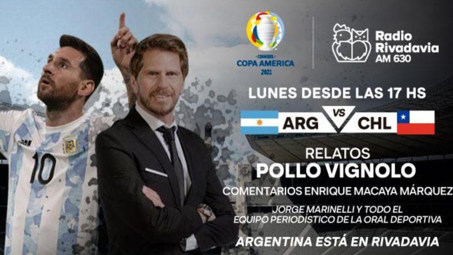 Pollo Vignolo Radio Rivadavia