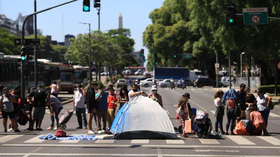 Protestas de la Tupac Amaru.