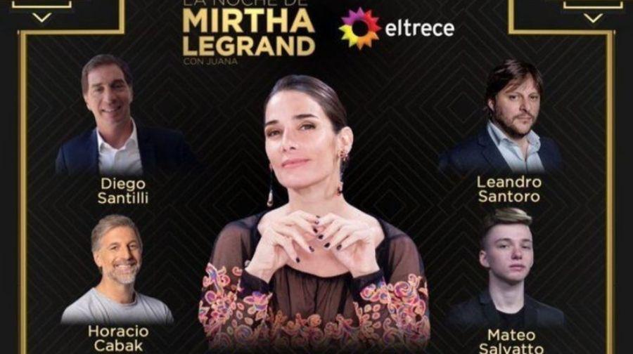 """Todos los detalles del look de Juana Viale para """"La Noche de Mirtha"""""""