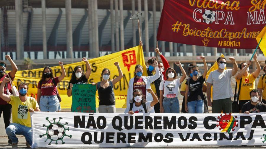 reclamos brasil copa america 130621
