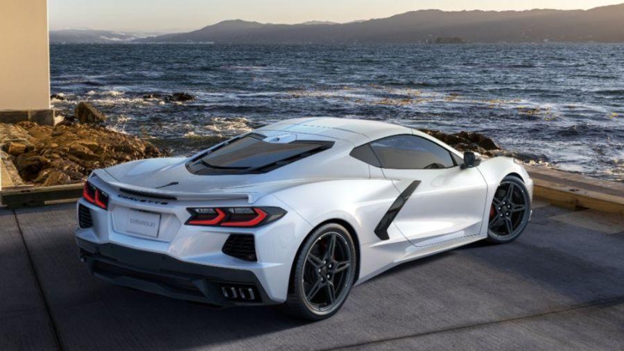 Chevrolet presentó un Corvette inspirado en las carreras