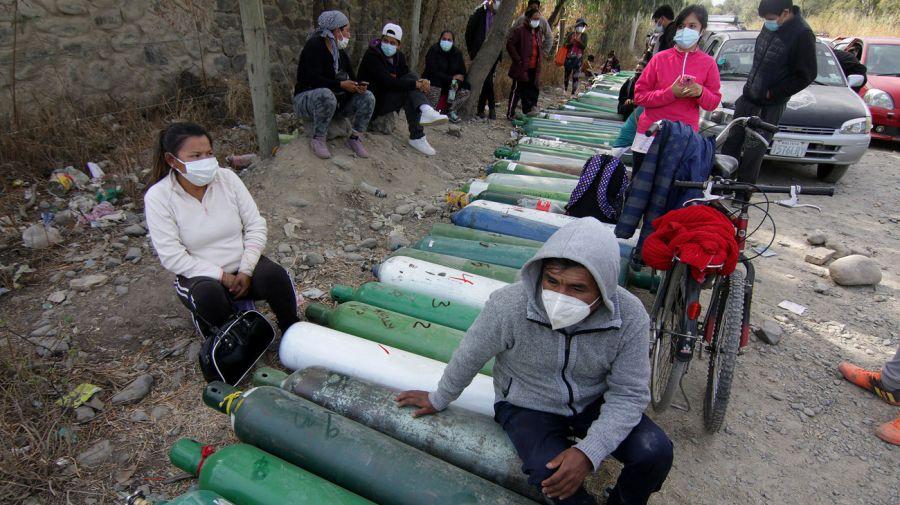 Bolivia Covid pressures oxygen