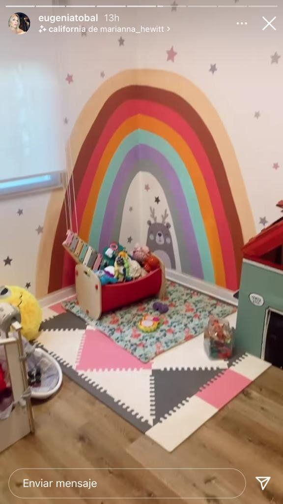 Eugenia Tobal refaccionó el cuarto de su hija Ema, al cumplir 18 meses