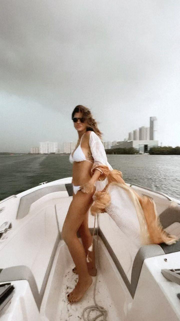 La China Suárez desmintió los rumores de embarazo bailando en Miami