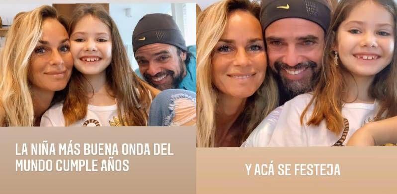 Luciano Castro y Sabrina Rojas, otra vez juntos: las tiernas fotos en familia