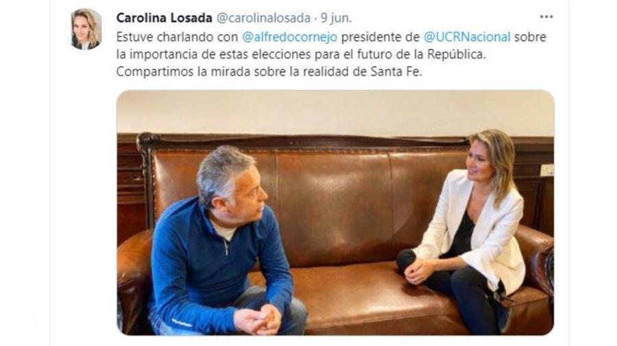 Alfrejo Cornejo y Carolina Losada