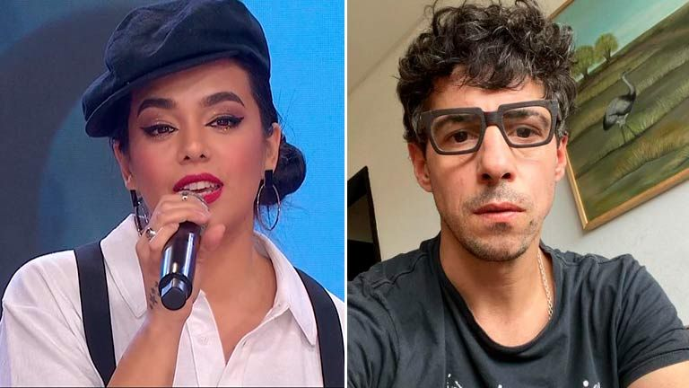 "Ángela Leiva sobre Esteban Lamothe: ""Es un dulce de leche"""