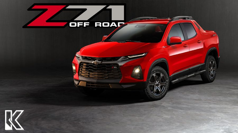 Chevrolet pick-up compacta Z71